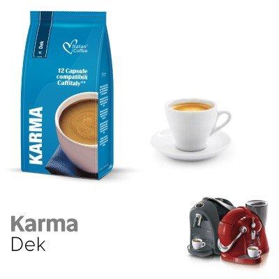 Caffitaly 60 Cápsulas café compatibles mezcla descafeinado: Amazon.es: Alimentación y bebidas