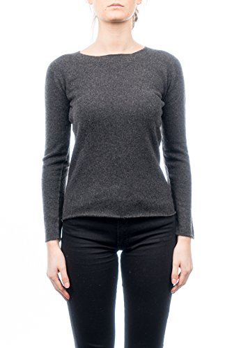 PIANE rond Pull col cachemire Anthracite Femme Couleur 100 CASHMERE S Taille DALLE dqxnHw7d
