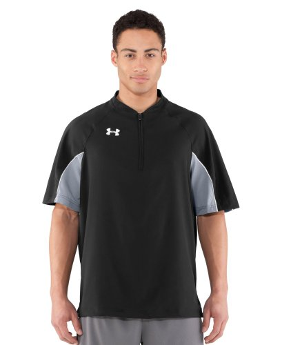 Men's Under Armour Contender Cage Jacket Black/Steel Size Small