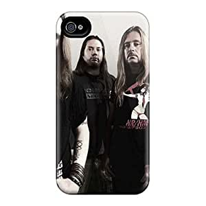 Iphone 4/4s Dbf17005AyNR Unique Design High-definition Children Of Bodom Band Series Scratch Protection Cell-phone Hard Covers -MansourMurray