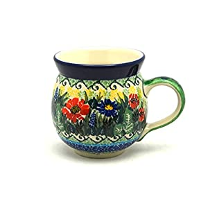 Polish Pottery Mug – 11 oz. Bubble – Unikat Signature U4610