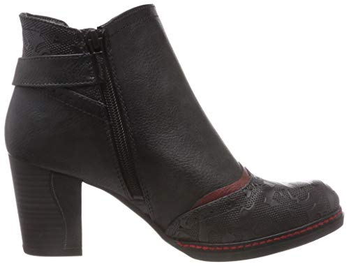 Chelsea Botas Mujer Mustang Para Stiefelette Gris graphit 259 AE1OqFTxw
