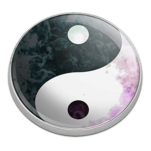 - GRAPHICS & MORE Yin and Yang Chinese Duality Watercolor Symbol Golfing Premium Metal Golf Ball Marker