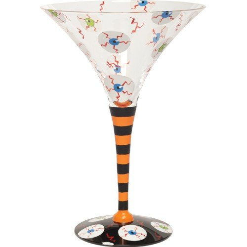 Lolita Love My Martini Glass, Bloodshot by Santa Barbara Design Studio
