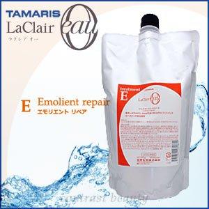 【X3個セット】 タマリス ラクレアオー エモリエントリペア トリートメントE 600g(詰替レフィルタイプ) TAMARIS La Clair eau B00KFPNPT8