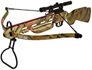 150lbs Crossbow with Scope, Extra Arrows and Rope Cocking Device