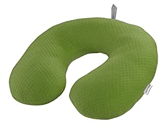 Lewis N. Clark Belle Hop Comfort Neck Pillow, Green, One Size
