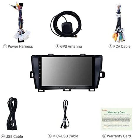 """Toyota Prius ZVW30 9"""" Widescreen Sat Nav Stereo Screen Android 9 ..."""