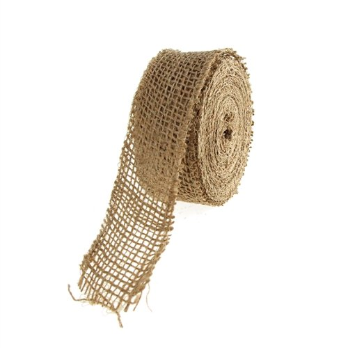 10 Yards 1-1//2 10 Yards 1-1//2 Party Spin FKT0JRH01512 1-1//2-Inch Homeford Firefly Imports Natural Jute Roll