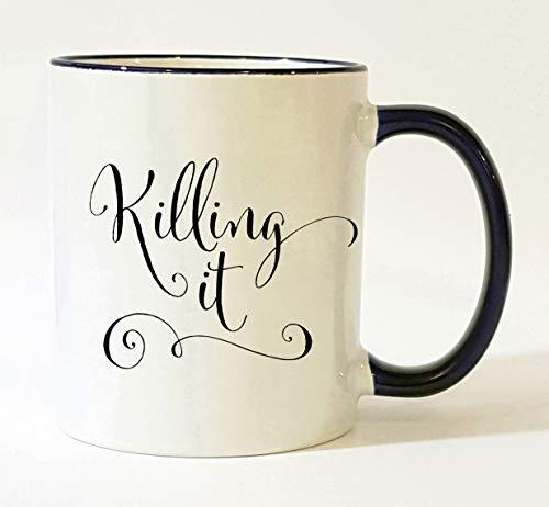 Killing It Mug/New Job Gifts for Women/Entrepreneur Woman/Congratulations Gift ()