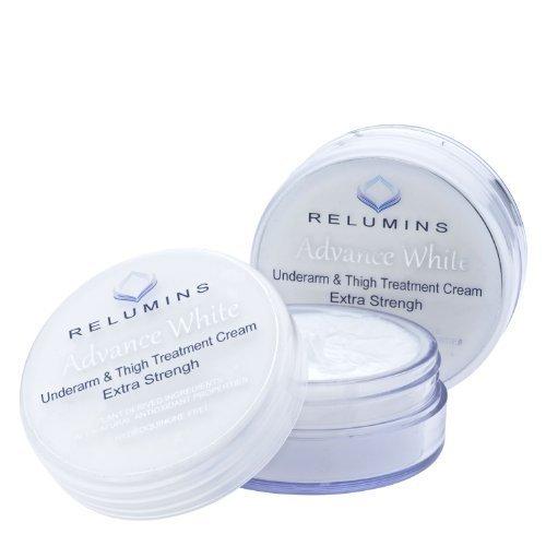 Authentique Relumins aisselles et l'intérieur des cuisses crème - Conçu pour les zones difficiles à blanchir