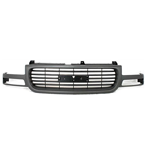 (00-06 Yukon/XL Grill Grille Assembly Gray Frame Black Insert GM1200429 19130786)