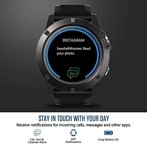 Amazon.com: Smartwatch Tactical V5 Touch Screen Smart Watch ...