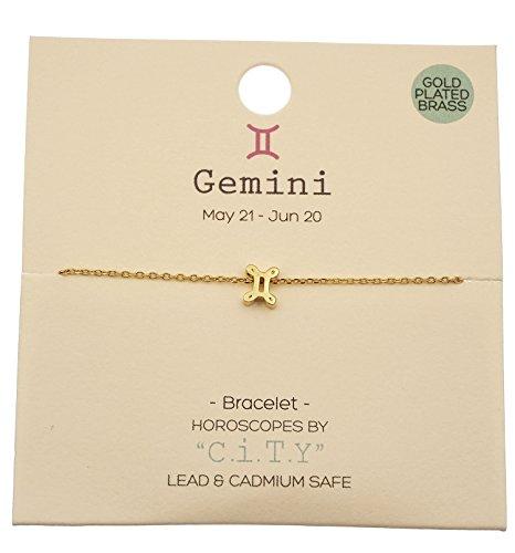 Horoscope Gemini Zodiac Sign (Gemini Zodiac Sign Horoscope Astrology Charm Bracelet)