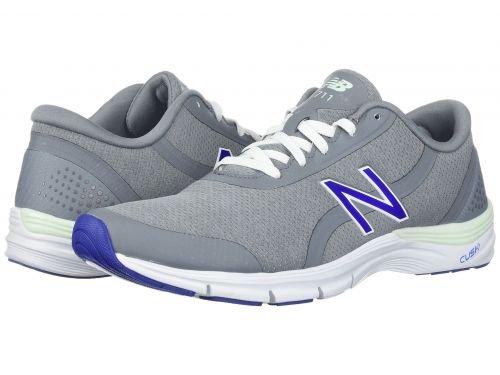 New Balance 711v3 Heathered Trainer Shoe Women's Crosstraining 8.5 Steel-Blue Iris