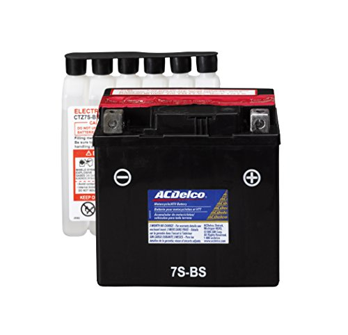 ACDelco ATZ7SBS Specialty AGM Powersports JIS 7S-BS Battery by ACDelco (Image #4)