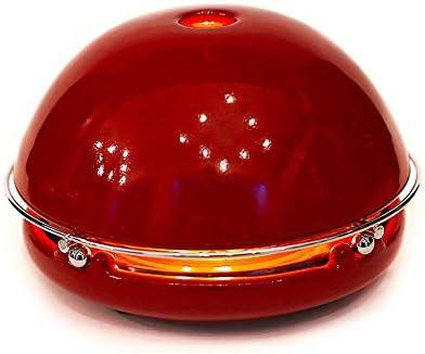 Egloo Rojo esmaltado - Gadget multiusos calefactor bajo consumo ...