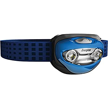 Energizer LED Headlamp with Vision Optics and two modes (Batteries Included)