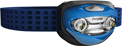 Energizer LED Headlamp with Vision Optics and two modes (Batteries Included) (A/b Switch Slide)
