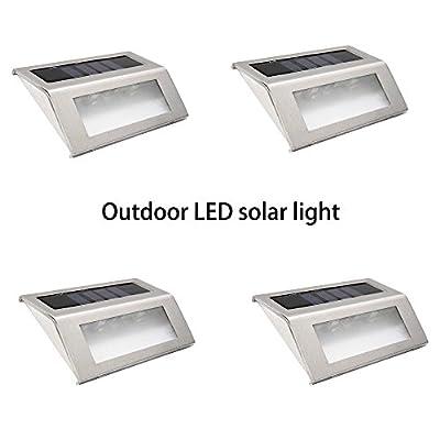 Homdox 2 LED Flood Lights, Outdoor Solar Powered, Wireless Waterproof Security Motion Sensor Light,Pack of 4