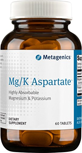 Metagenics Mg Aspartate Tablets Count