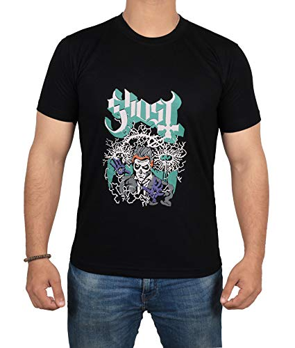 Ghost B.C. Men's Nikola Tesla Slim Fit T-Shirt XX-Large Black