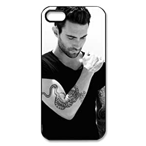 Custom Your Own Personalised Hard Adam Levine iPhone 5 Cover, Snap On Adam Levine iPhone 5 Case