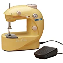 White SC20 Sew Cute Battery/AC Sewing Machine by White