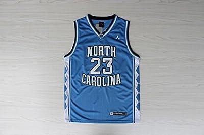 Basketball Jersey Michael Jordan North Carolina Jersey, Michael Jordan Collage Jersey North Carolina 23 Blue + FREE GIFT