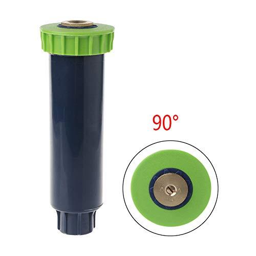 INLAR Auto Pop-Up Sprinklers,Pop-Up Gear Drive Rotor Sprinkler Spray Head Pop up Irrigation Sprinkler for Lawn, Yard, Garden, Planter Beds (90°) ()