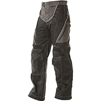 Xelement B4402 Mens Black Advanced Level-3 Tri-Tex Fabric Motorcycle Pants - 36