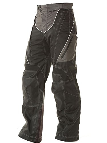 Xelement B4402 Mens Black Advanced Level-3 Tri-Tex Fabric Motorcycle Pants - (Mens Advanced Xelement Motorcycle)
