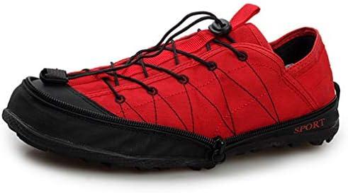 ウォーターシューズ ファスナー付き折りたたみ式 軽量 携帯 アウトドアシューズ 運動 スポーツシューズ 大きいサイズ トレッキング シューズ 男女兼用 防滑 登山靴