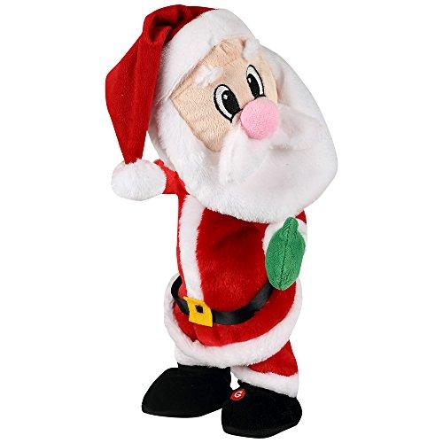 Gemmy Twerking Santa Bluetooth Plush – Compatible with Alexa from Gemmy