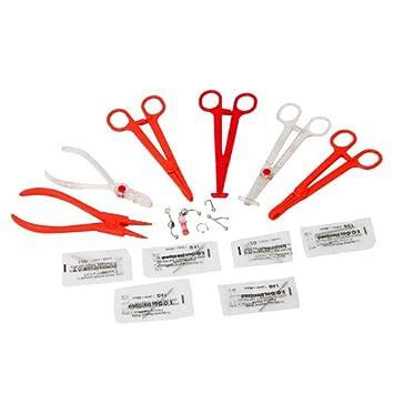 Amazoncom Professional Sterile Disposable Plastic Body Piercing
