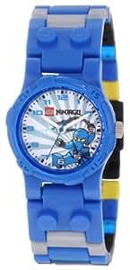 Lego Kids' 9000324 LEGO Ninjago Kai Clock & Ninjago Jay 2 pack assortment Watch