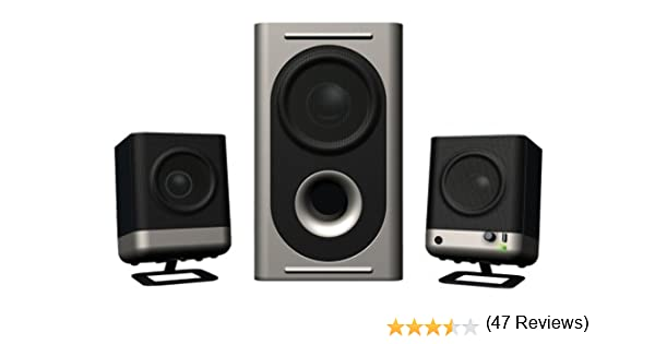 amazon com altec lansing 221 amplified speaker system electronics