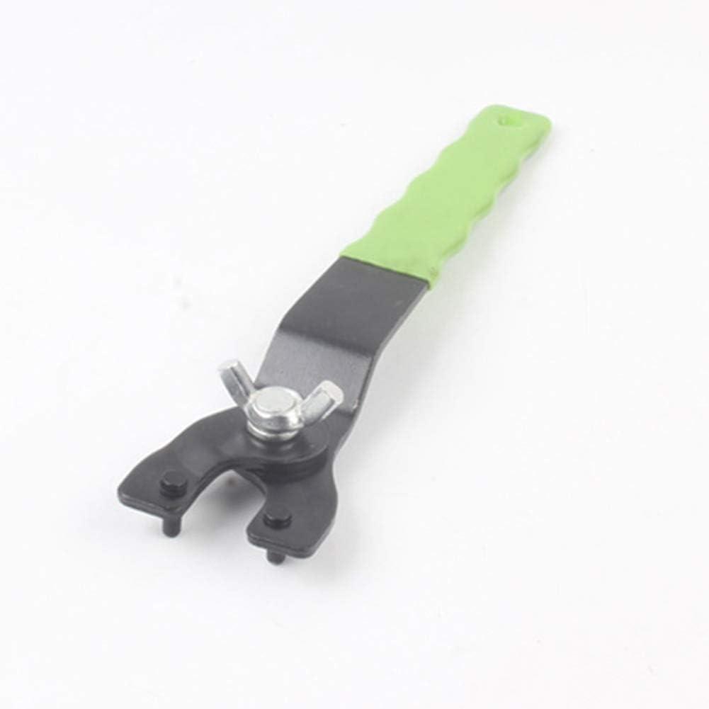 Llave de amoladora de /ángulo ajustable universal para m/áquinas de corte herramienta de reparaci/ón de herramientas de reparaci/ón Alician
