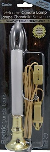 Lamp w// On//Off Switch Quantity 2 Darice # 6077 9 Electric Window Candle