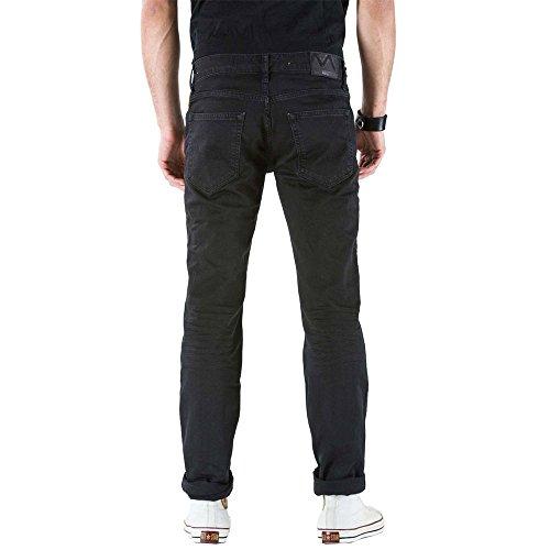 Jeans Vita G2380 Black Modello Slim Uomo Maner Media ak000 Meltin'pot Vestibilità Per dwqagdz