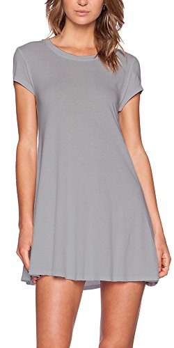 Bobi S/S Swing Tunic/Dress (Small, - Womens Dress Bobi