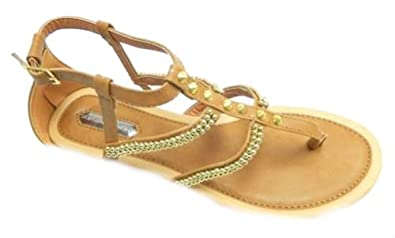 9b7239a86be Dorothy Perkins Womens Summer Gladiator Buckle Strap Sandals UK 5   Amazon.co.uk  Shoes   Bags