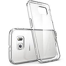 Galaxy S6 Case, [Scratch Resistant] i-Blason **Clear** [Halo Series] Samsung Galaxy S6 Hybrid Bumper Case Cover (Clear (Anti Scratch))