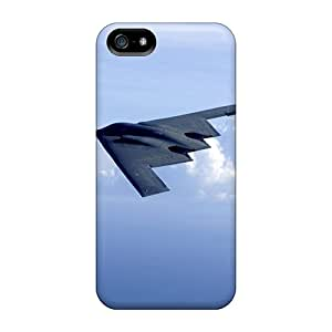 Durable Protector Case Cover With B 2 Spirit And F 15 Eagles Hot Design For Iphone 5/5s