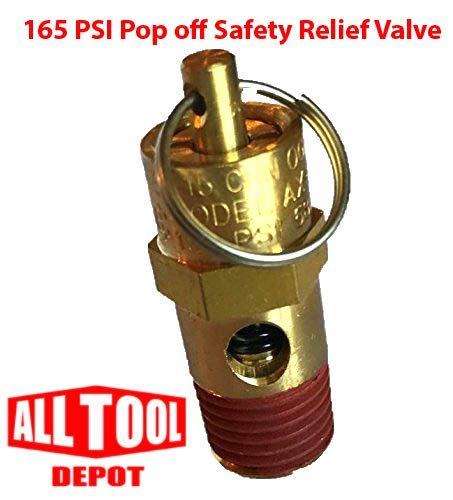 Control Devices ST Series Brass ASME Safety Valve 1//4 NPT 165 PSI 64 SCFM