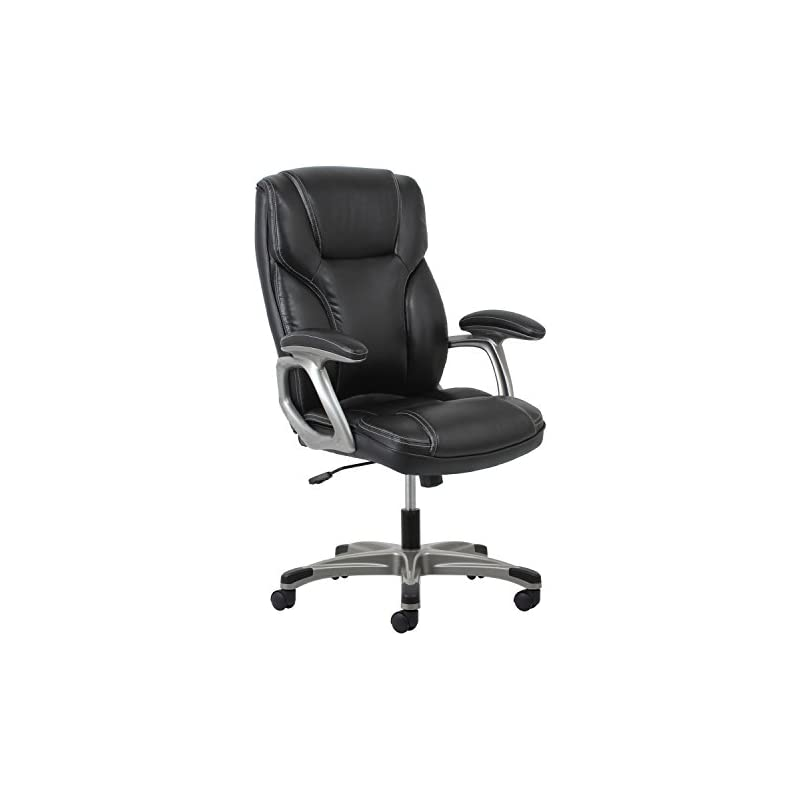 OFM Essentials High-Back Leather Executi