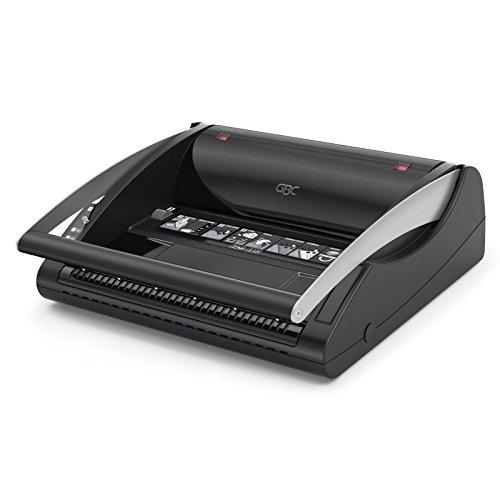 GBC 4401929 ClickBind 150 Rilegatrice a Spirali Click da 16mm, Nero