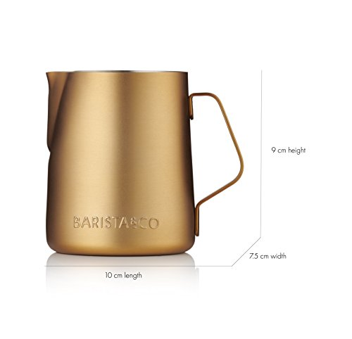 Barista & Co Milk Jug, Midnight Gold by Barista (Image #2)