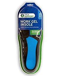 Work Gel Insole Men, Size 8-14, 1 Pair