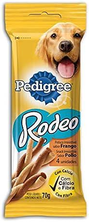 Petisco Para Cachorros Pedigree Rodeo Frango Adultos 4 Unidades 70g